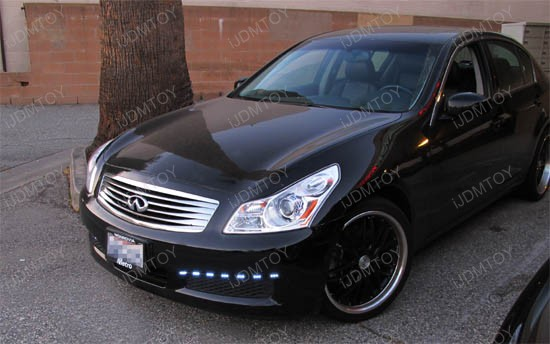 Infiniti - G35 - LED - strip - light - 2